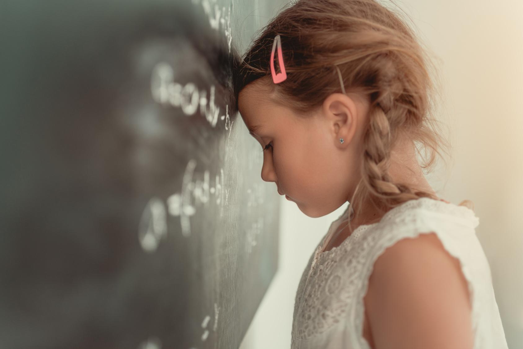 Überfordetes Kind mit FAS
