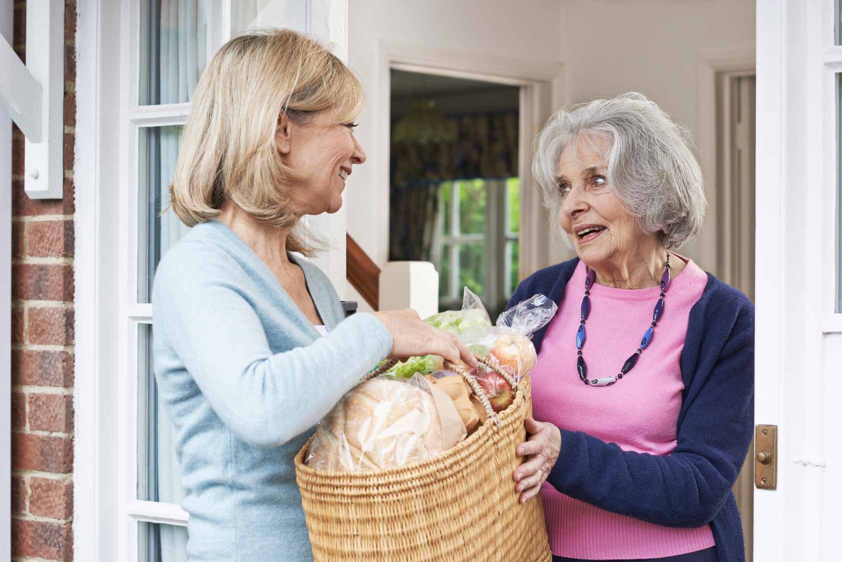 Seniorin beansprucht Entlastungsleistungen