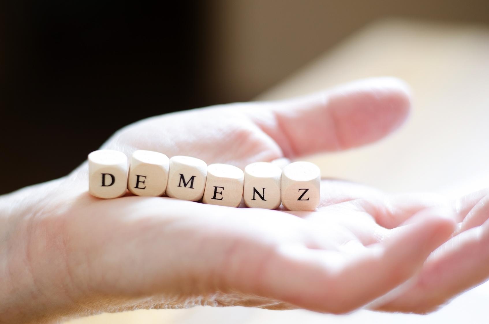 Demenz, Alzheimer, Gedächtnisverlust-symbolisch