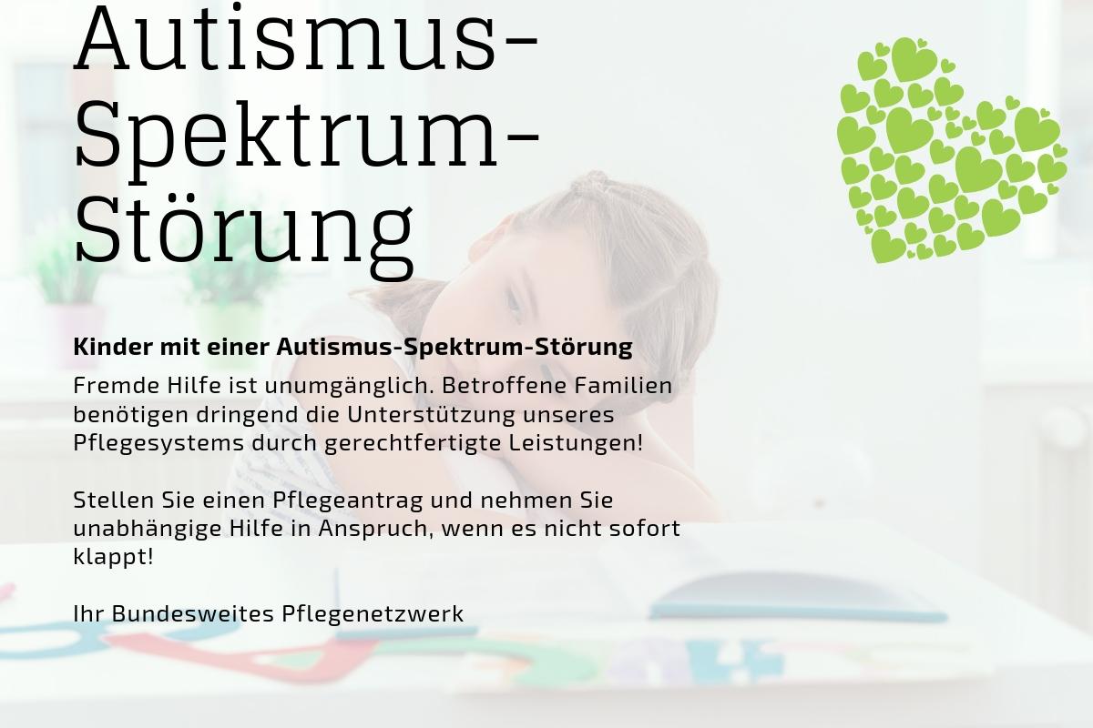 Kinder mit Autismus-Spektrum-Störung