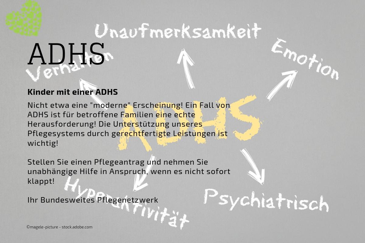 Pflegeantrag bei Kindern mit ADHS (BWPN)