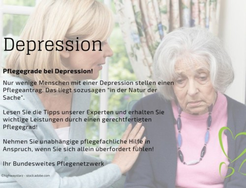 Pflegeantrag bei Depression