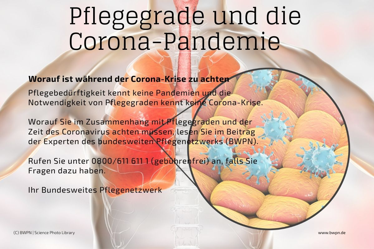 Pflegegrade und die Corona-Pandemie