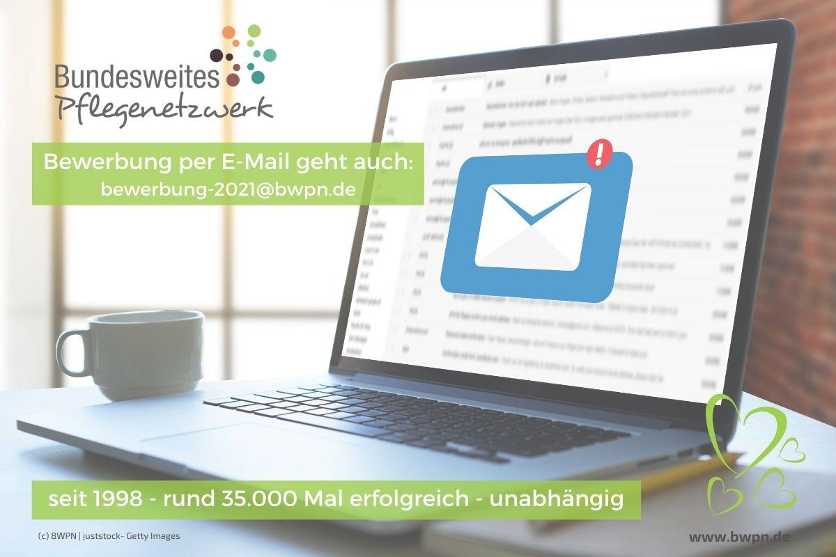 Bewerbung per E-Mail bei Bundesweites Pflegenetzwerk (BWPN) 2021